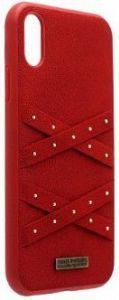Чехол для iPhone XS Max (6.5'') Santa Barbara Polo & Racquet Club Abbott Red (SB-IP6.5SPABT-RED)