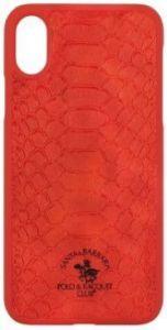 Чехол для iPhone XR (6.1'') Santa Barbara Polo & Racquet Club Knight Red