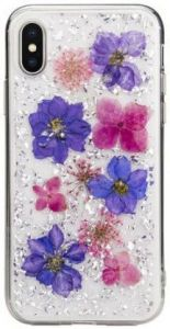 Чехол для iPhone X/XS (5.8'') SwitchEasy Flash Case Violet (GS-103-44-160-90)