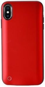 Чехол-аккумулятор для iPhone XS Max (6.5'') WK Junen Backup Power Bank 4500mAh Red (WP-079)