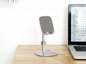 Подставка для смартфона или планшета Baseus literary youth desktop bracket Silver (SUWY-0S)