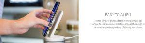 Беспроводное зарядное устройство Adonit Wireless Fast Charging Stand 10W Black (3130-17-07-C)