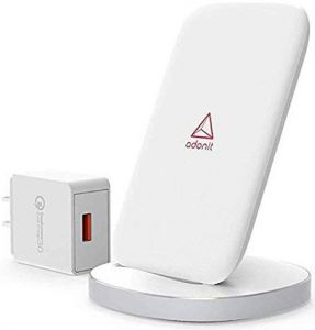 Беспроводное зарядное устройство Adonit Wireless Fast Charging Stand 10W White (3130-17-08-C)