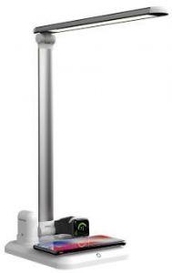 Док-станция для Apple Watch и Apple AirPods, беспроводное зарядное устройство для iPhone (+ настольная лампа) Mate X-1 White