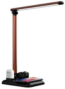 Док-станция для Apple Watch и Apple AirPods, беспроводное зарядное устройство для iPhone (+ настольная лампа) Mate X-1 Black