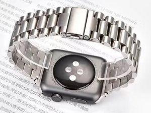 Металлический ремешок для Apple Watch 42mm (Серия 1/2/3) / 44mm (Серия 4/5) COTEetCI W26 Steel Band Silver (WH5240-TS)