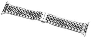 Металлический ремешок для Apple Watch 42mm (Серия 1/2/3) / 44mm (Серия 4/5) COTEetCI W27 Steel Band Silver (WH5242-TS)