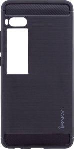 TPU чехол iPaky Slim Series для Meizu Pro 7 Черный