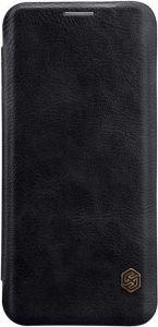 Кожаный чехол Nillkin Qin Series для Samsung Galaxy S9 Черный