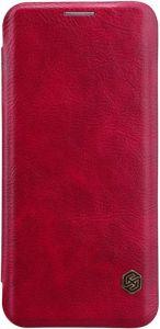 Кожаный чехол Nillkin Qin Series для Samsung Galaxy S9 Красный