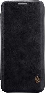 Кожаный чехол Nillkin Qin Series для Samsung Galaxy S9+ Черный