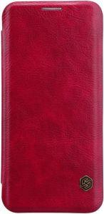 Кожаный чехол Nillkin Qin Series для Samsung Galaxy S9+ Красный