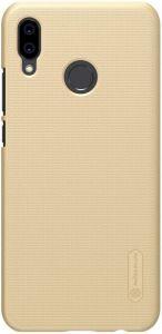 Чехол Nillkin Super Frosted Shield для Huawei P20 Lite (+ пленка) Золотой