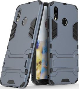 Ударопрочный чехол-подставка для Huawei P20 Lite Transformer Metal slate