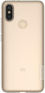 TPU чехол для Xiaomi Mi 6X / Mi A2 Nillkin Nature Series Бесцветный (прозрачный)