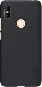 Чехол для Xiaomi Redmi S2 Nillkin Super Frosted Shield Черный (+ пленка)