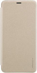Чехол (книжка) для Xiaomi Redmi S2 Nillkin Sparkle Series Золотой