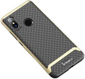 Чехол для Xiaomi Mi 8 iPaky TPU+PC Черный / Золотой
