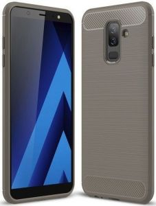 Чехол для Samsung Galaxy A6 Plus 2018 (A605) iPaky Slim Series Grey