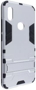 Ударопрочный чехол-подставка Transformer для Xiaomi Redmi S2 Серебряный / Satin Silver