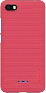 Чехол для Xiaomi Redmi 6A Nillkin Super Frosted Shield Red