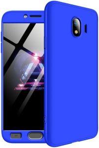 Чехол для Samsung Galaxy J4 2018 (J400) LikGus 360 градусов Blue