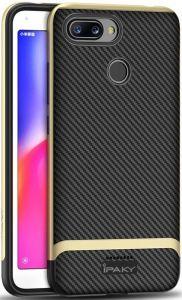 Чехол iPaky TPU+PC для Xiaomi Redmi 6 Черный / Золотой