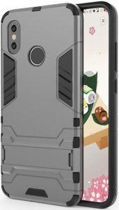 Ударопрочный чехол-подставка для Xiaomi Mi A2 Lite /Redmi 6 Pro Transformer Gun Metal