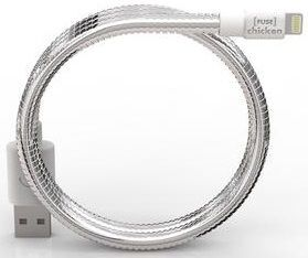 Кабель FuseChicken USB Cable to Lightning Titan Travel 50cm Silver (IHC)