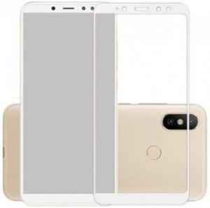 Защитное стекло для Xiaomi Redmi S2 Mocolo (full glue) на весь экран Белое