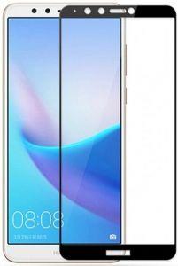 Защитное стекло для Huawei Y7 Prime (2018) / Honor 7C Pro Mocolo (full glue) на весь экран Черное