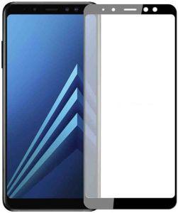 Защитное стекло для Samsung A730 Galaxy A8+ (2018) Mocolo (full glue) на весь экран Черное