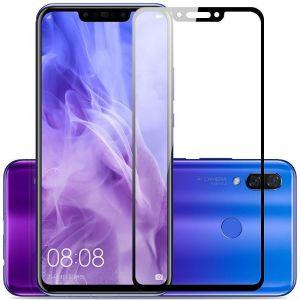 Защитное стекло для Huawei Nova 3 Mocolo (full glue) на весь экран Черное