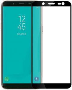 Защитное стекло для Samsung Galaxy A6 (2018) Mocolo (full glue) на весь экран Черное