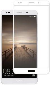 Защитное стекло для Huawei Mate 10 Pro Mocolo (full glue) на весь экран Белое