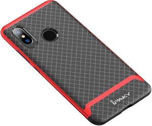 Чехол iPaky TPU+PC для Xiaomi Redmi Note 5 Pro / Redmi Note 5 (Dual Camera) Черный / Красный