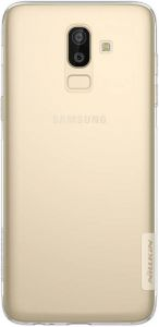 Чехол для Samsung (J810) Galaxy J8 (2018) Nillkin Nature Series Transparent
