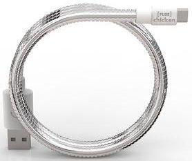 Сверхпрочный кабель microUSB (50 см, 1A) FuseChicken Titan Travel M Silver (IHM)