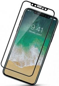 "Защитное 3D-стекло для iPhone XS/X (5.8"") ZiFriend 3D Черное"