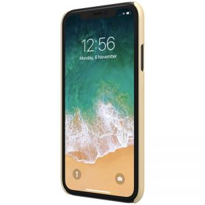 Чехол для iPhone XR (6.1'') Nillkin Super Frosted Shield Gold