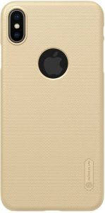Чехол для iPhone XS Max (6.5'') Nillkin Super Frosted Shield Gold