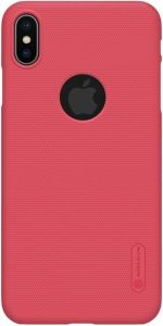 Чехол для iPhone XS Max (6.5'') Nillkin Super Frosted Shield Red