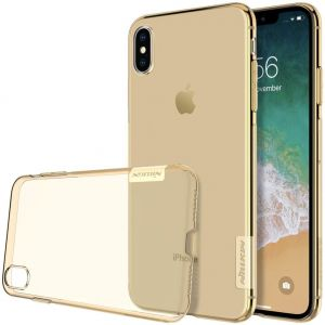 "Чехол для iPhone XS Max (6.5"") Nillkin Nature Series Gold"