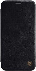 Кожаный чехол для iPhone XS Max (6.5'') Nillkin Qin Series Black