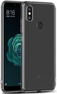 Чехол iPaky Clear Series (+стекло) для Xiaomi Mi 6X / Mi A2 Бесцветный (прозрачный)