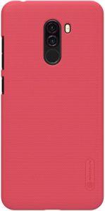 Чехол Nillkin Super Frosted Shield для Xiaomi Pocophone F1 Красный