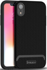 Чехол для iPhone XR (6.1'') iPaky TPU+PC Black/Grey