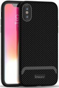 Чехол для iPhone XS Max (6.5'') iPaky TPU+PC Black/Grey