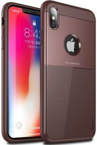 Чехол для iPhone XS Max (6.5'') iPaky TPU+PC Dunjia Brown