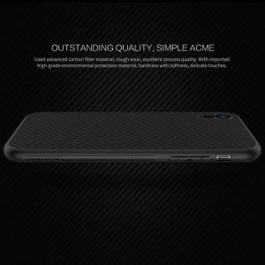 "Чехол для iPhone XR (6.1"") Nillkin Synthetic Fiber series Black"
